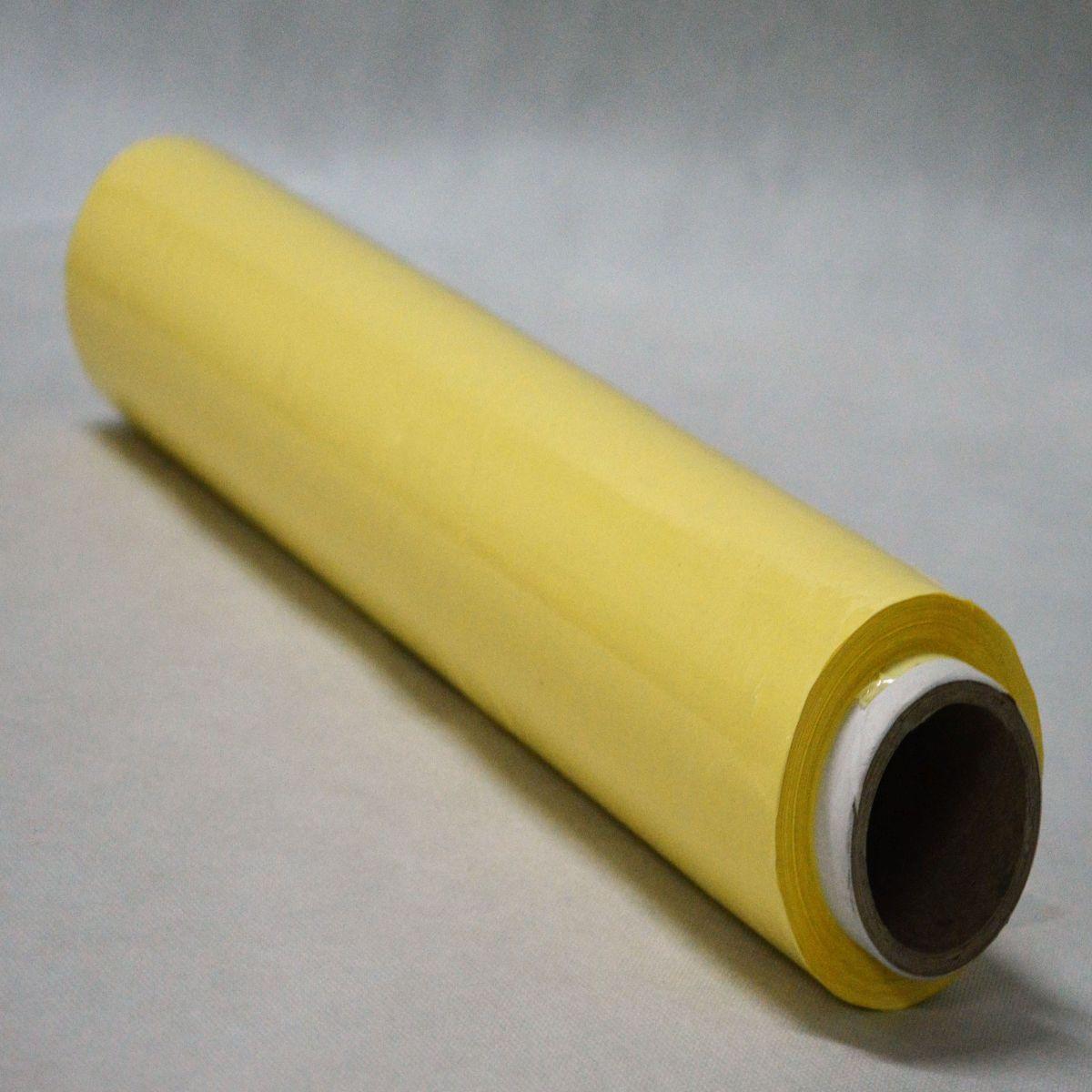 Folia stretch ręczna żółta
